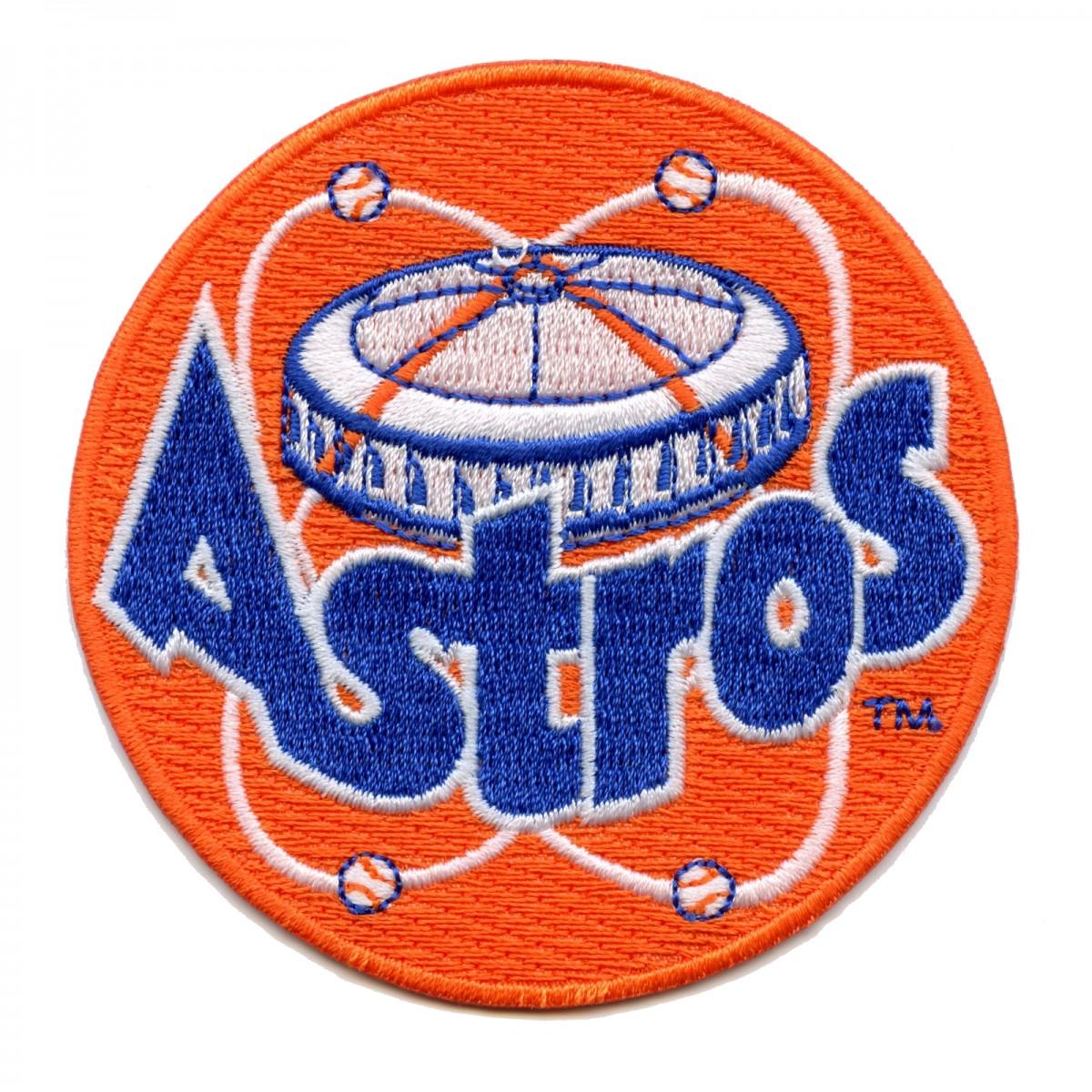 Houston Astros Retro Logo With Astrodome Patch.