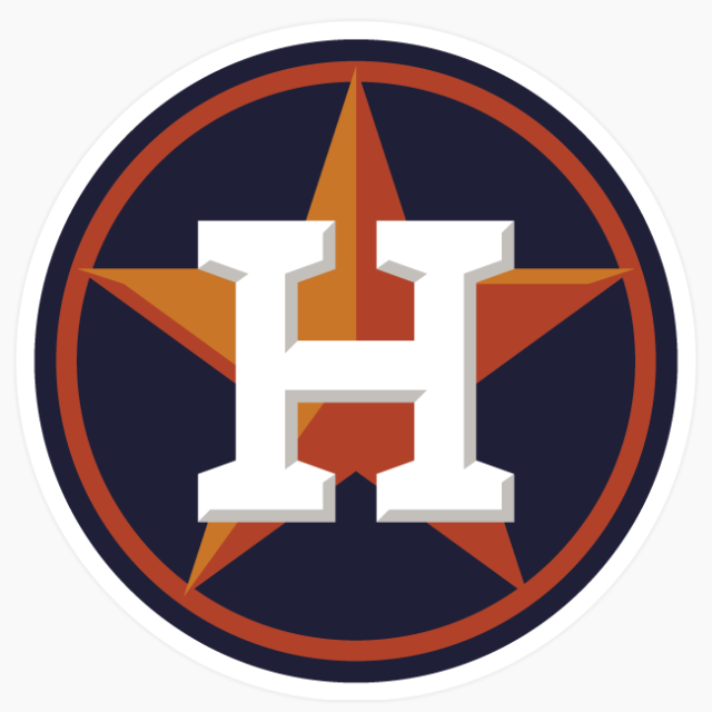 Houston Astros Logo MLB Diecut Vinyl Decal Sticker Buy 1 Get 2.