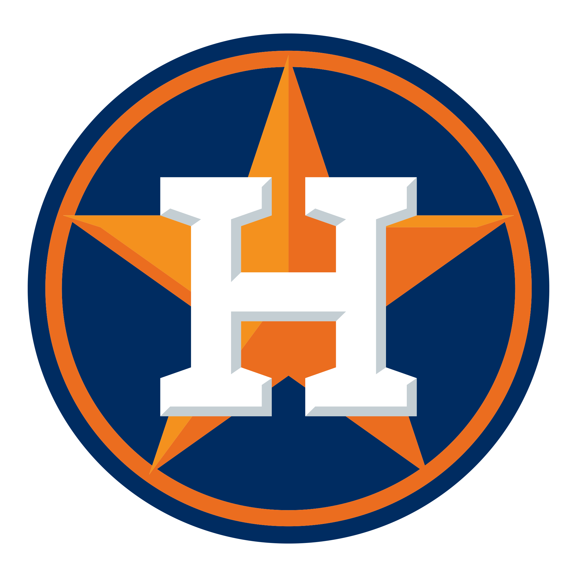 Houston Astros Logo transparent PNG.