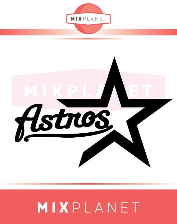 Houston Astros SVG Cut Files, Houston Astros DXF Cutting Files.