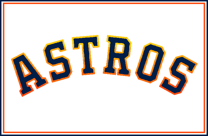 Houston Astros: Tequila Sunrise Hangover.