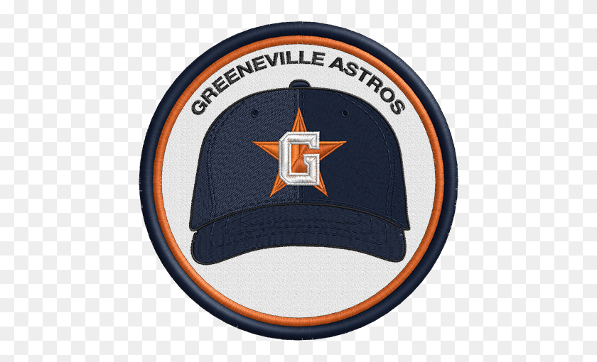 Greeneville Astros Minor League Baseball Logos.