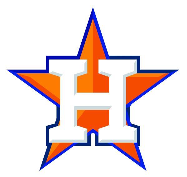 Details about Houston Astros H Star Logo Vinyl Decal / Sticker 5 Sizes!!!.