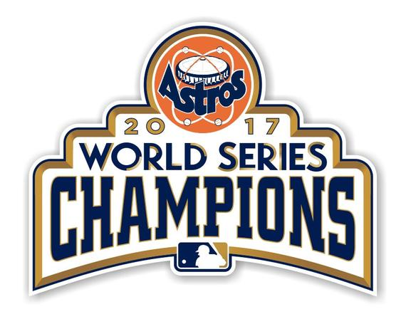 Houston Astros 2017 World Series Champions Decal.