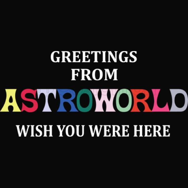 Greetings From Astroworld Wish You Were Here v2 iPhone 6/6S Case.