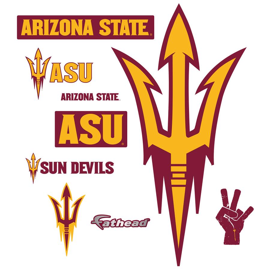 Arizona State Sun Devils: Pitchfork Logo.