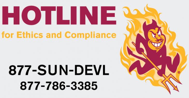 ASU Hotline.