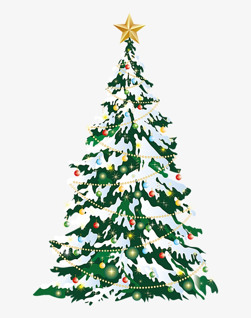 Christmas Tree Christmas Card Clip Art.