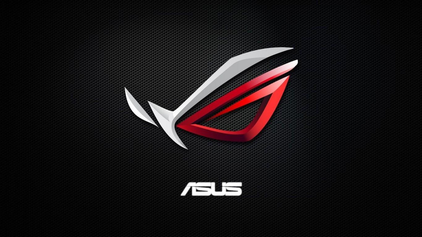 Download 1366x768 Asus, Republic Of Gamers, Logo, Rog.