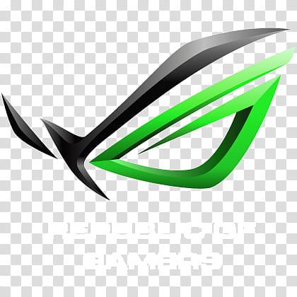 ASUSTeK R O G Logo Packs, ASUS ROG GREEN W icon transparent.