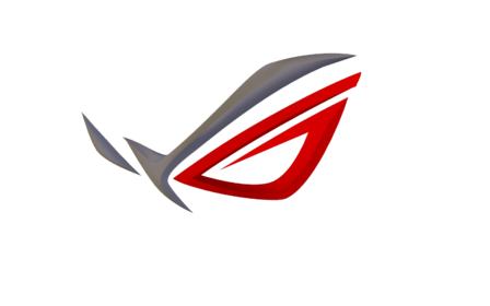 This represents the ROG line of ASUS products. The logo is meant to.