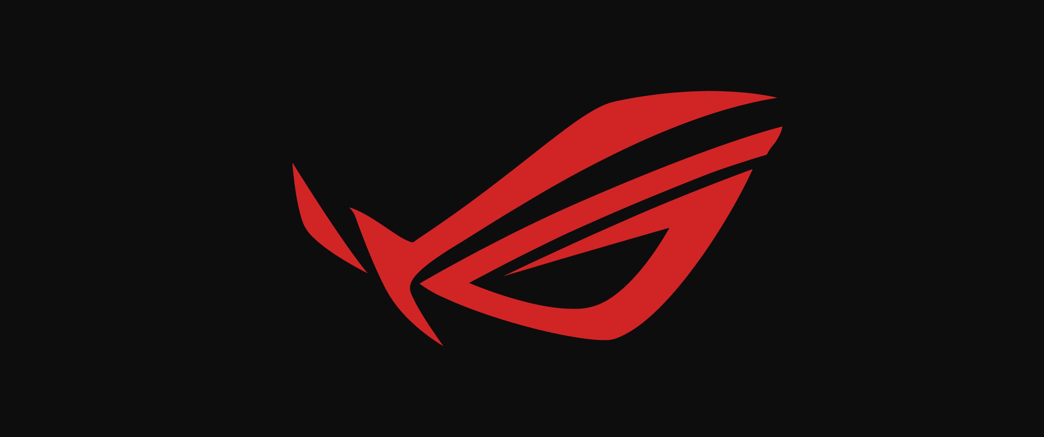Minimalistic ASUS ROG logo.