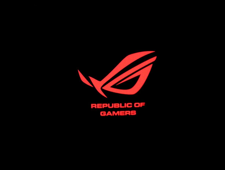 Asus Red Rog Logo Hd Wallpaper.