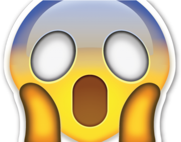 Fear Clipart Shocked Face.