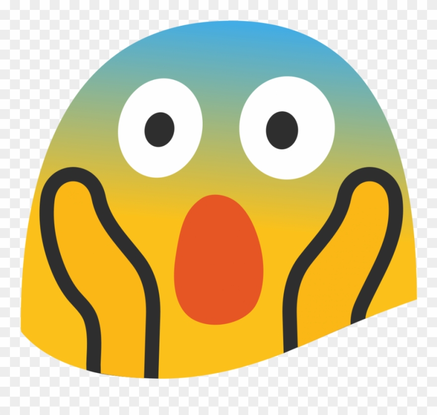 Screaming Smiley Face Transprent Png Free Download.