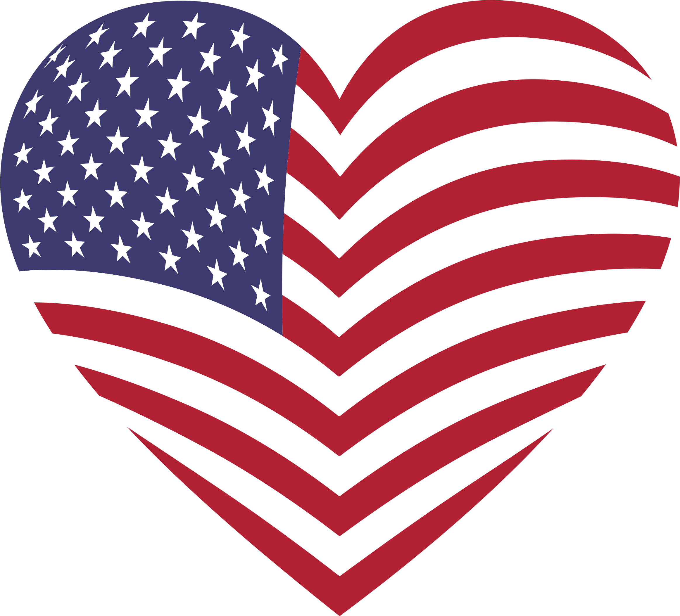 Heart clipart flag, Heart flag Transparent FREE for download.