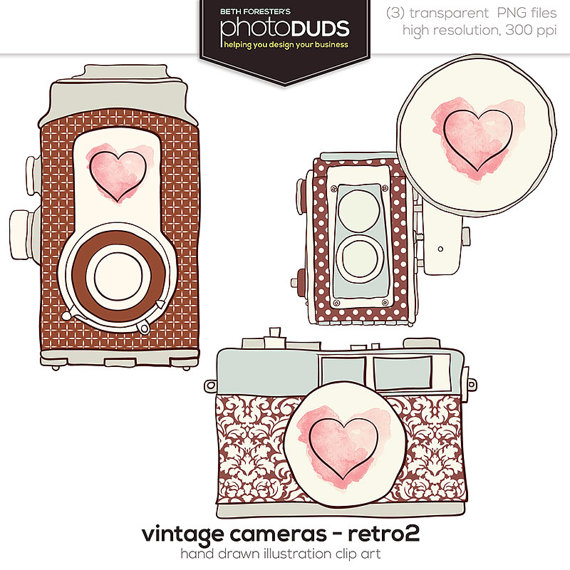 Camera With Heart Clipart Clipground