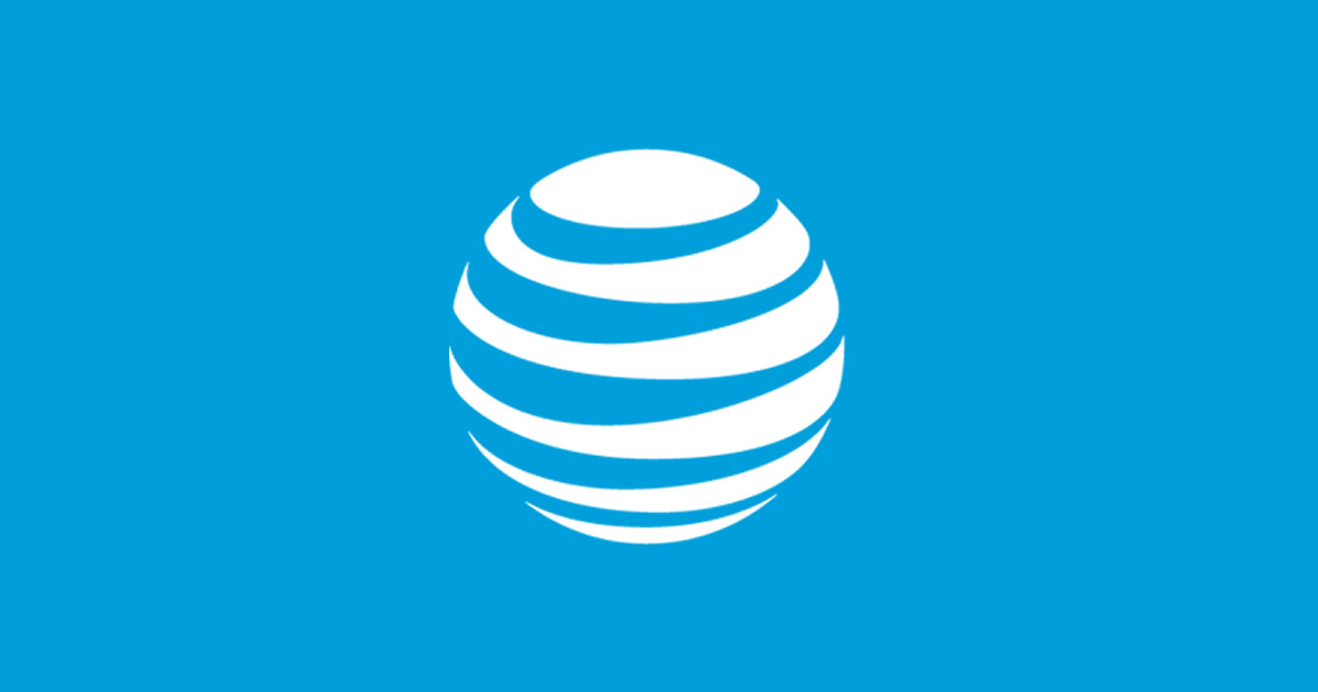 AT&T Business Homepage.