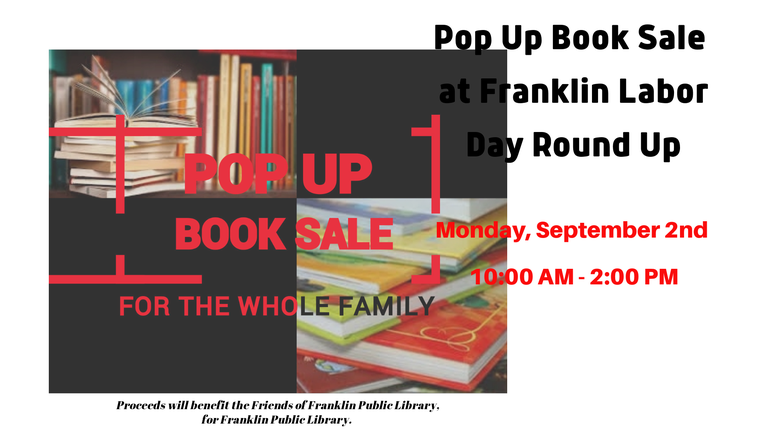 CAROUSEL Pop Up Book Sale at Labor Day Round Up.png — Franklin.