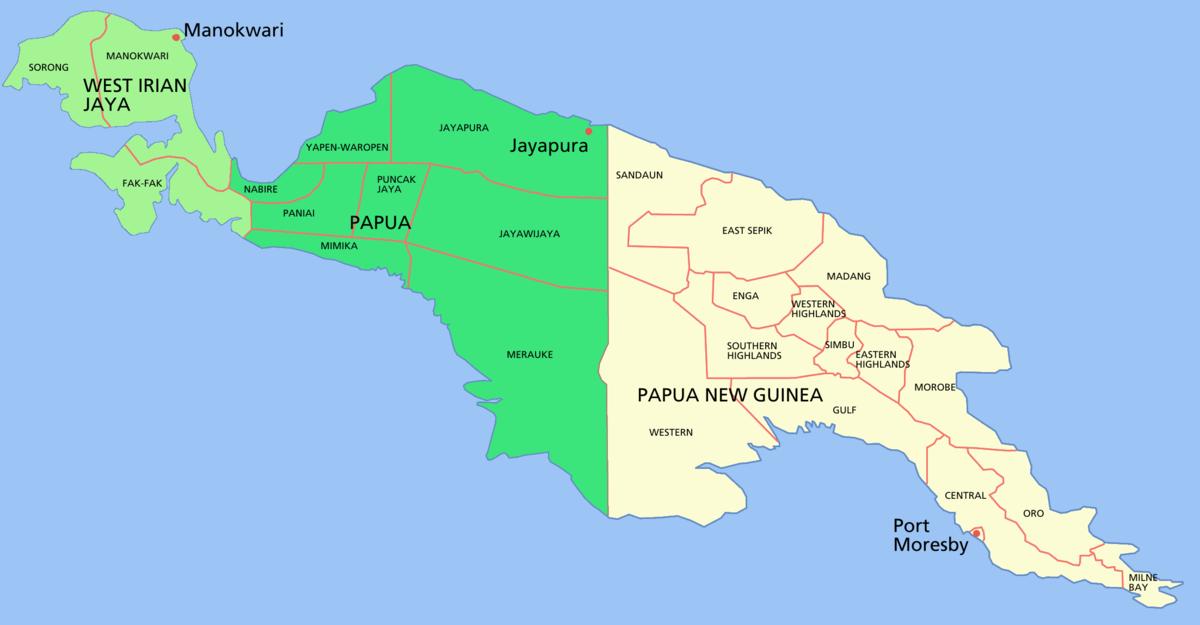 Papua conflict.