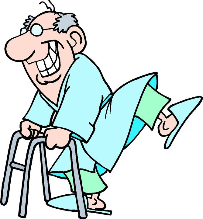 Free Old Lady With A Walker, Download Free Clip Art, Free.