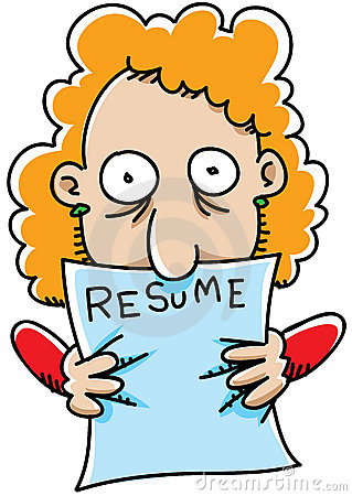 Resume Looking At Clipart.