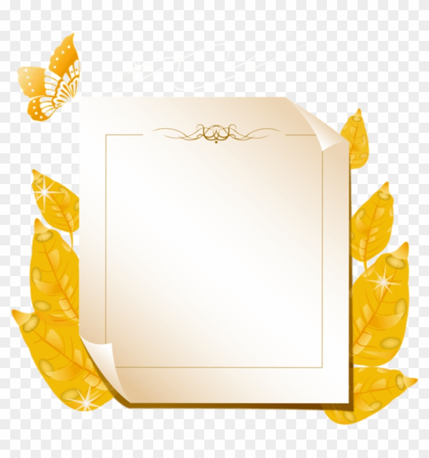 Free Png Download Autumn Leaves Blank Clipart Png Photo.