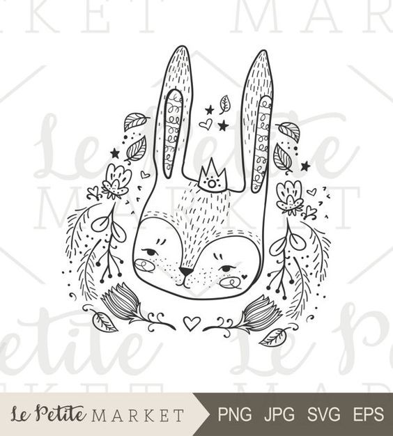 Forest Friends Clipart Images, Cute Woodland Animal.