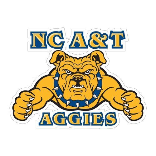North Carolina A&T Large Decal \'NC A&T Aggies\'.