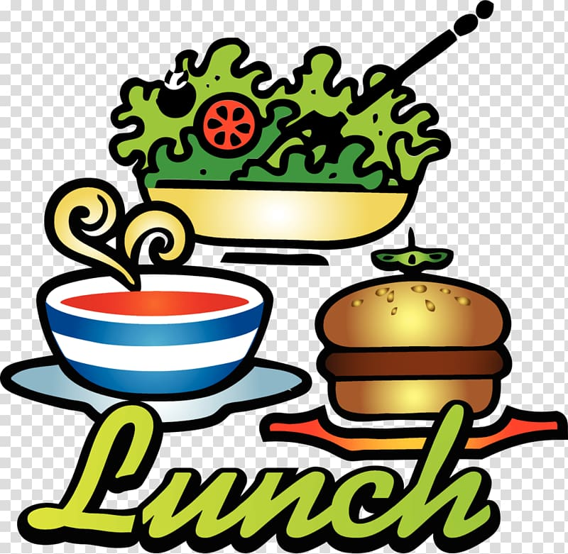 Free lunch , Family lunch transparent background PNG clipart.