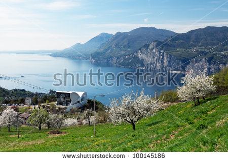 Garda Lake Malcesine From View Stock Photos, Royalty.