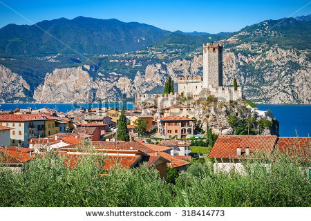 Lake Garda Stock Photos, Royalty.