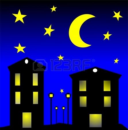 Night clipart free.