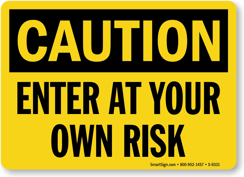 Download open at your own risk clipart Origem do Universo.