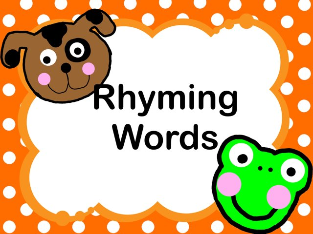 Rhyming words clipart 2 » Clipart Station.