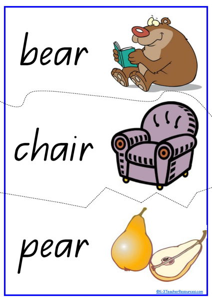 Rhyming words clipart » Clipart Station.