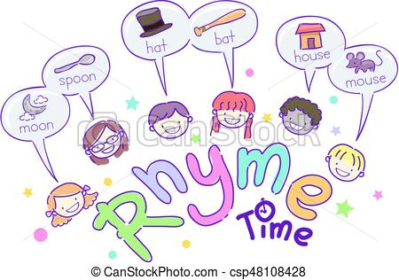 Rhyming words clipart 1 » Clipart Station.