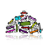 Junk Clipart EPS Images. 16,109 junk clip art vector illustrations.
