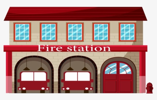 Free Fire Station Clip Art with No Background.