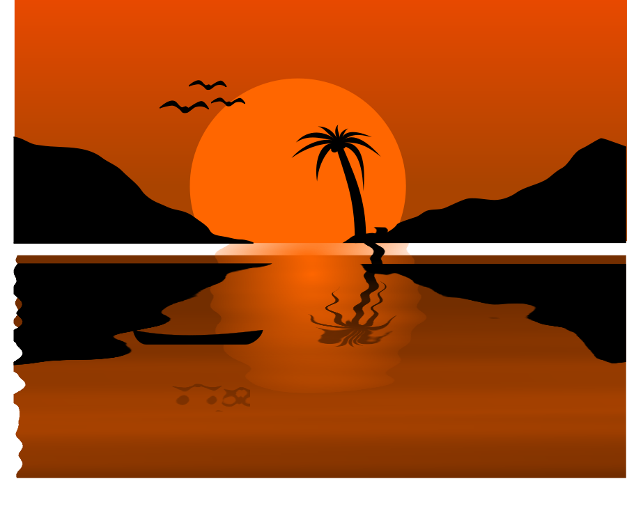Sunrise Sunset Clipart.