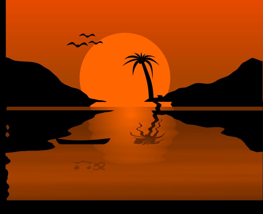 Sunrise Sunset Clipart.