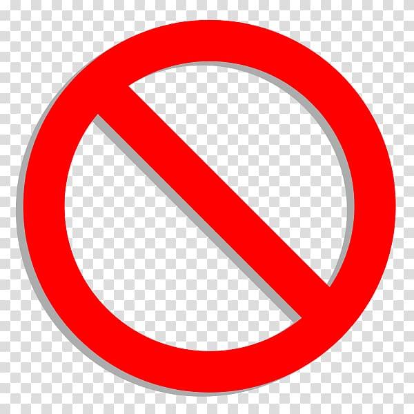 Prohibited logo, No symbol Sign , svg transparent background.