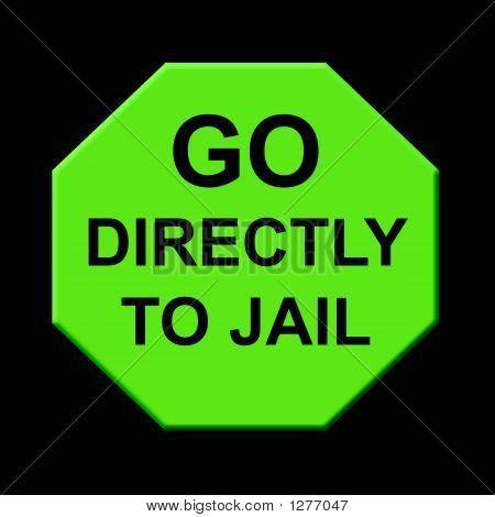 Go to Jail Clip Art.