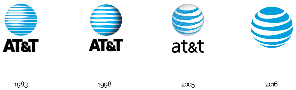 Brand New: New Logo and Identity for AT&T by Interbrand.