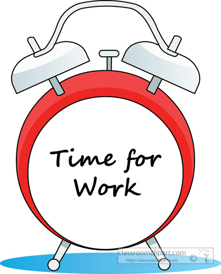 Working Time Clipart Clipground