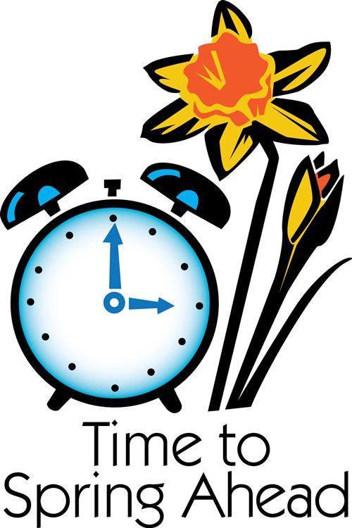 Daylight savings time clip art free.