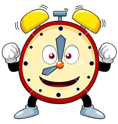 Time Clock Birthday Clipart.