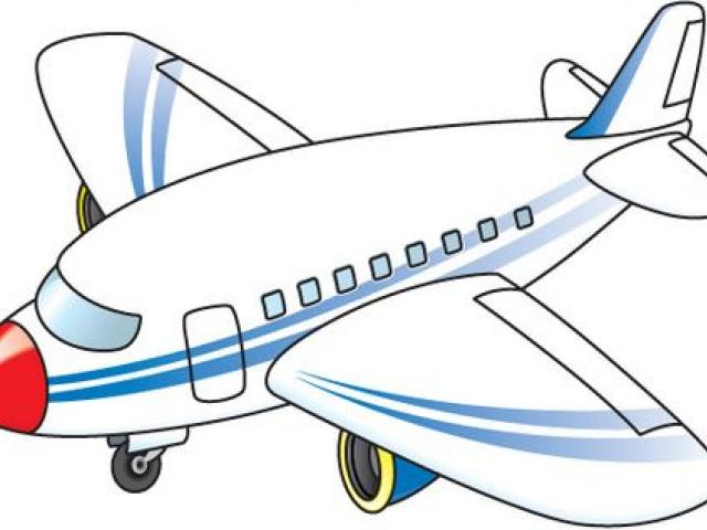 Airplane clipart transportation, Airplane transportation.