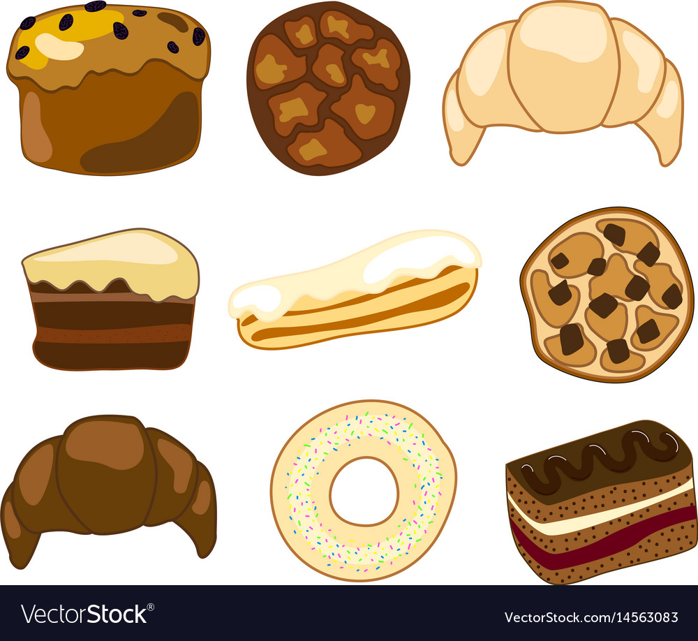 Sweet bakery clipart.