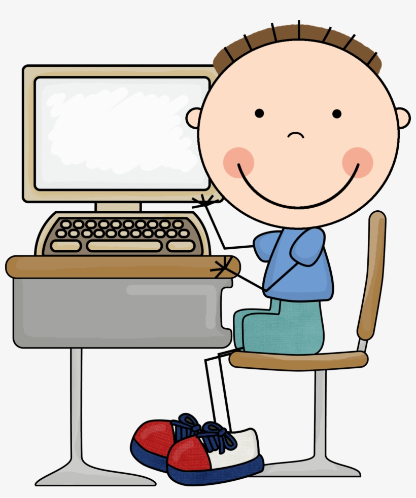 Computer Clipart For Kid Png.